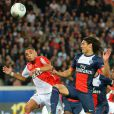 Match PSG- Monaco (1-1) au Parc des Princes le 22 septembre 2013.