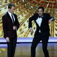 Neil Patrick Harris et Jimmy Fallon lors des 65e Primetime Emmy Awards à Los Angeles, le 22 septembre 2013.
