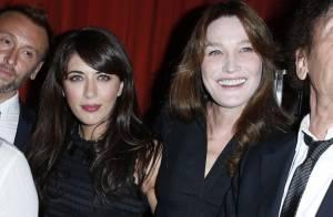 Carla Bruni et Nolwenn Leroy : Chic et complices pour une soirée inoubliable...