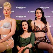 Dita von Teese soufflée par l'ouragan Sandy : La star du burlesque au tribunal