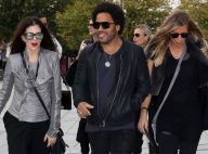 Fashion Week : Lenny Kravitz, spectateur du show sensationnel de Rick Owens