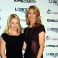 Steffi Graf et Melissa Joan Hart, duo charmeur lors des Longines Women Who Make A Difference Awards à la Hearst Tower de New York le 26 septembre 2013