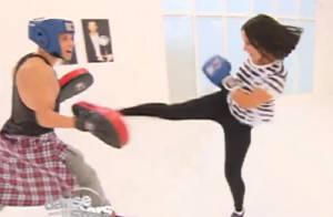Danse avec les stars 4: Alizée se lâche, son entraînement vire au combat de boxe