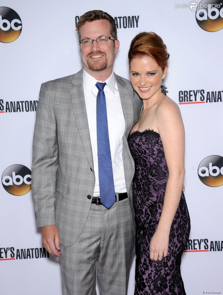 Sarah Drew with cool, endearing, friendly, Husband Peter Lanfer