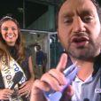 Marine Lorphelin invitée dans l'émission Touche pas à mon poste de Cyril Hanouna. Le 1er octobre 2013.