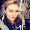 Lindsey Vonn à l'entraînement au Chili, le 18 septembre 2013