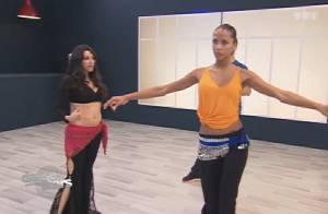 Danse avec les stars 4 - Noémie Lenoir : De pigeon à danseuse du ventre sexy !