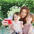 Alyson Hannigan et ses filles, sur Instagram, septembre 2013.