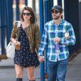 Alyssa Miller et Jake Gyllenhaal à New York, le 21 septembre 2013.