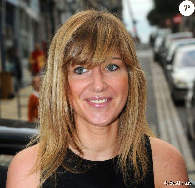 Amanda Sthers, le vendredi 4 octobre, lors de la 24e édition du Festival du film britannique de Dinard.