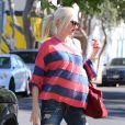"""""""Gwen Stefani, enceinte et ravissante à Los Angeles, le 5 octobre 2013."""""""
