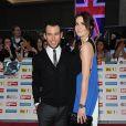 Mark Cavendish et sa femme Peta Todd à Londres le 3 octobre 2011.