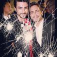 Harry Louis et Marc Jacobs, au dernier défilé Louis Vuitton. Photo Instagram, 5 octobre 2013.