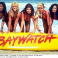 Les naïades Traci Bingham, Donna D'Errico, Yasmine Bleeth, Gena Lee Nolin et Nancy en 1997.
