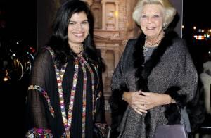 La princesse Sumaya et la princesse Beatrix réunies par Petra la prodigieuse