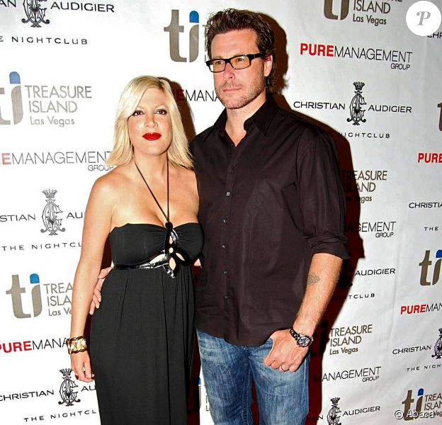Tori Spelling et son mari sont très élégants