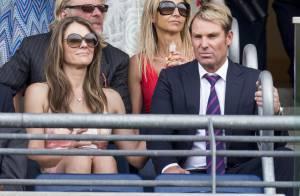 Elizabeth Hurley, séparée ? Retrouvailles complices avec son fiancé Shane Warde