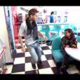 """Tal et Yann-Alrick Mortreuil-Henry - Troisième prime de """"Danse avec les stars 4"""" sur TF1. Le 12 octobre 2013."""