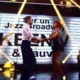 """Keen'V et Fauve Hautot - Troisième prime de """"Danse avec les stars 4"""" sur TF1. Le 12 octobre 2013."""