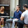 Exclusif - Tarek Benattia, le frère de Nabilla qui fait le buzz sur twitter, en tournage sur l'émission de télé réalité de sa soeur à Paris le 3 octobre 2013.