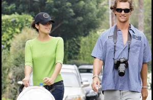 PHOTOS : Matthew McConaughey et Camilla Alves, couple à mi-temps !