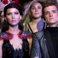 Jennifer Lawrence et Josh Hutcherson dans Hunger Games - L'Embrasement.