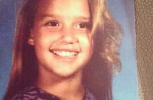 Jessica Alba à onze ans : Une enfant déjà très jolie !