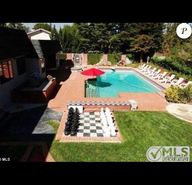Photo de la maison de l'enfance de Kristen Stewart à Hollywood Hills
