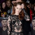 Kristen Stewart à Londres le 14 novembre 2012.