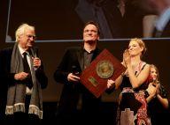 Quentin Tarantino : Emu aux larmes devant Uma Thurman pour son Prix Lumière