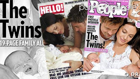 Les couvertures de Hello et People magazine