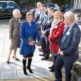 La comtesse Sophie de Wessex était à l'Université de Bristol le 23 octobre 2013 en tant que marraine de The Healing Foundation, venue soutenir le projet Cleft Gene Bank de constitution d'une base de données ADN pour aider la recherche sur les fentes labiales et palatines.