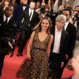 """Natalie Portman lors de l'avant-première du film """"Thor: Le Monde des ténèbres"""", au Grand Rex à Paris, le 23 octobre 2013."""