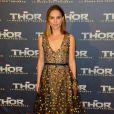 Natalie Portman à la première de Thor: Le Monde des Ténèbres au Grand Rex à Paris, le 23 octobre 2013.