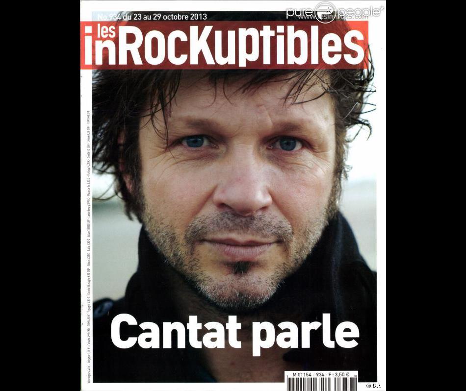 "Bertrand Cantat parle dans ""Les Inrockuptibles"", en kiosques le 23 octobre 2013."