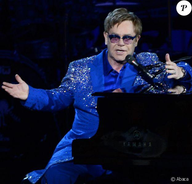 Sir Elton John lors des Emmy Awards à Los Angeles le 22 septembre 2013