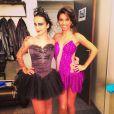 """Les belles chanteuses Alizée et Tal, sont inséparables dans l'aventure """"Danse avec les stars 4."""""""