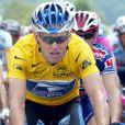 Lance Armstrong pendant le Tour de France 2002.