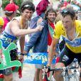 Lance Armstrong le 21 juillet durant le Tour de France 2003.