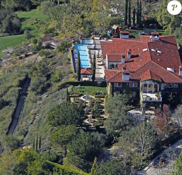 Maison de Seal et Heidi Klum à Brentwood. Le top s'apprête à la quitter pour emménager à Bel Air.