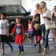 Heidi Klum en famille fin septembre à Los Angeles