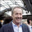 Gérard Klein à la Gare de l'Est, à Paris, en septembre 2010