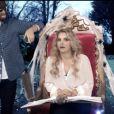 Britney Spears dans un sketch spécial Halloween sur la chaîne anglaise BBC 1.