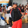 "Chris Brown sur le plateau de l'émission ""Today Show"" à New York, le 30 août 2013."