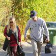 Fergie et Josh Duhamel à Brentwood, le 28 octobre 2013.