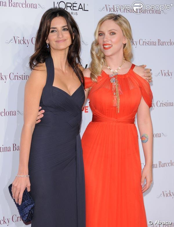 Penélopé Cruz et Scarlett Johansson