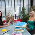 Nabilla (Nabilla Benattia) et Geny G. (Shauna Sand) dans Hollywood Girls 3