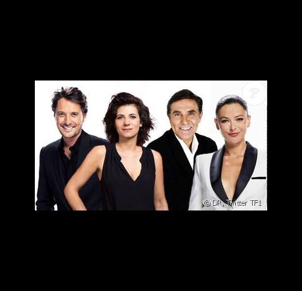 Vincent Cerutti, Estelle Denis, Sandrine Quétier et Jean-Pierre Foucault présenteront l'Euromillion et le Loto à partir de 2014