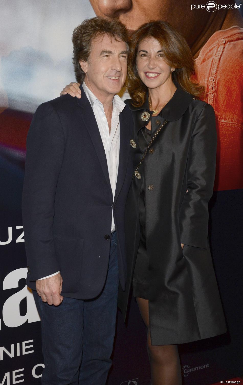 Fran ois cluzet et sa femme narjiss l 39 avant premi re du - Francois busnel sa femme ...