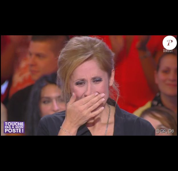 Lara Fabian dans Touche pas à mon poste, sur D8, le mercredi 6 novembre 2013.